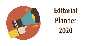 Planner 2020 Template Editorial Planner 2020