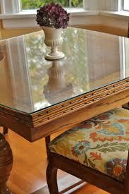 custom cut glass table top