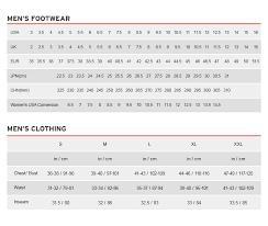 Australian Clothing Size Conversion Chart Mens Size Chart
