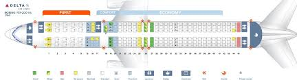 Boeing 757 Seating Chart Aer Lingus Delta Air Lines Fleet Boeing 757 200 Details And Pictures