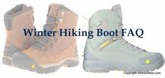 Winter Hiking Boots Faq Section Hikers Backpacking Blog