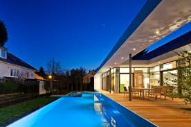 Elegant Contemporary House in Germany: Perfect C1 House Design Exterior  With Modern Home Style Used