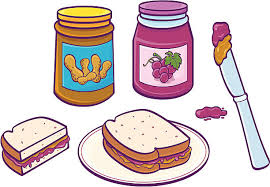 peanut butter and jelly clipart. Peanut Butter Jelly Sandwich Vector Art Illustration Intended And Clipart