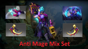 dota 2 anti mage new immortal mix set origins of faith with guilt