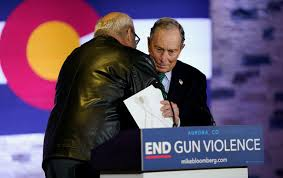 Battle Of The Charts Bloomberg Bloomberg Says Ending Nationwide Madness Of Gun Violence