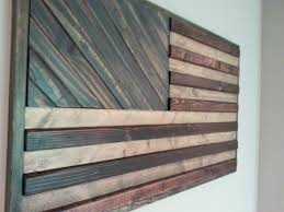 etsy american flag wall art