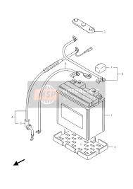 <b>Suzuki LT</b>-<b>A500X</b> KINGQUAD AXi 4X4 2016 Spare Parts - MSP