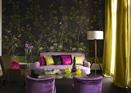 Wallpapered Living Rooms Gallery Gallery Fromental