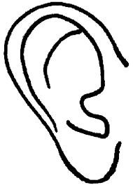 Small Picture Ears Coloring Pages Coloring Home