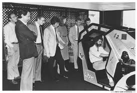 Star Wars Cabinet George Lucas Receiving His Personalized Star Wars Arcade Cabinet