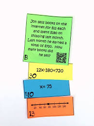 my 7th grade 8th grade math students loved this two step equations activity this