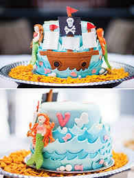 Joint Pirates Mermaids Birthday Party Hostess With The Mostess