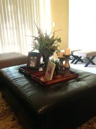 Decorating An Ottoman With Tray Ottoman Tray Decor Trays Home Awesome With Additional Best Interior 1