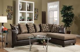 Living Room Furniture Phoenix Del Sol Exclusive 4124 Contemporary Sectional Sofa With Chaise End