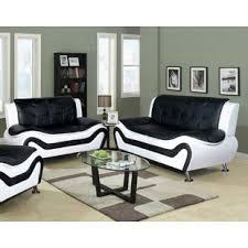 leather living room furniture. Crocker 2 Piece Leather Living Room Set Furniture