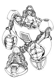 Coloring Pages For Girls To Print Out Zombies Monsters Robot Lovely