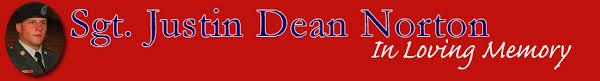 Thank you | Sgt Justin Dean Norton