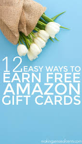 did you know that you can earn amazon gift cards for free yes here