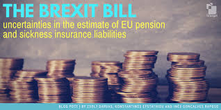 Image result for Brexit bill