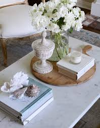how to style a coffee table my five