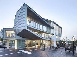 office building design ideas. Modern Commercial Office Building Architecture Glass Doors Design Ideas