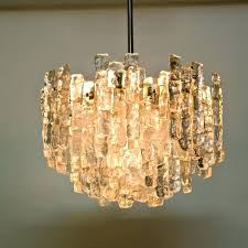 large glass chandelier large modern ice glass chandeliers by set of 2 large glass chandelier beads