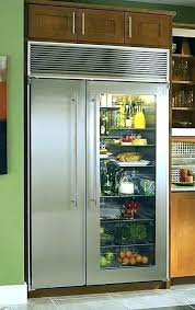 glass door refrigerator fridge for home french refrigerators models from high and freezer used sub zero