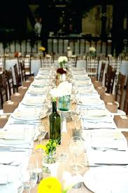 round table runner wedding making table runners for wedding how to make burlap table runners for