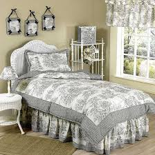 image of french toile bedding image of toile bedding sets