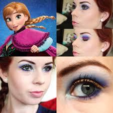 image disney frozen princess anna makeup while elsa represents frozen winter anna represents