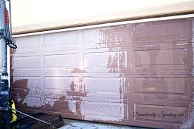 removing paint from aluminum garage door create a faux wood garage door with gel stain less removing paint from aluminum garage door