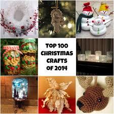 Christmas Decorations Diy Top 100 Diy Christmas Crafts Of 2014 Homemade Christmas Ornaments
