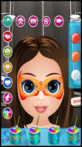 baby face skin paint doctor a little make up fashion makeover game for kids