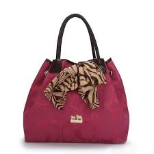 Cheap Coach North South Scarf Large Fuchsia Totes Atr Sale Jojkl