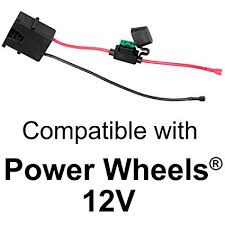 power wheels wiring harness wiring diagram more amazon com wire harness connector for fisher price power wheels 12 power wheels jeep hurricane wiring