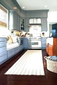 l shaped rug runner kitchen decor pasta