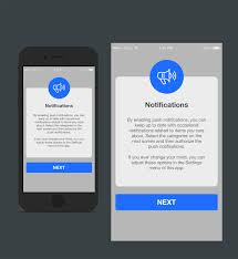 In App Notification Design Conservative Traditional News App Design For A Company By