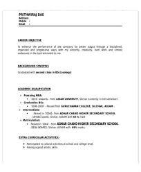 Best Sample Resume For Mba Freshers Sample Mba Resume Resume Cv