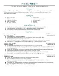 Sales Position Resume Examples Resume Template For Sales Position