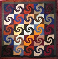 37 best SEWING - INDIANA PUZZLE QUILT images on Pinterest | Quilt ... & Antique quilt, Indiana Puzzle, seen at Laura Fisher Quilts. Wool. Big bold Adamdwight.com