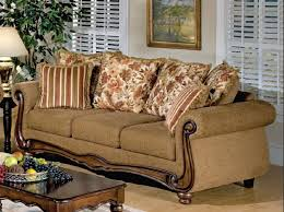 macy brown fl fabric sofa by serta upholstery 50310 regarding plan 4