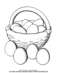 You'll find coloring pages with many different easter egg designs for your child to enjoy. Basket Of Easter Eggs Free Coloring Pages For Kids Printable Coloring Home