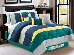 yellow blue and green comforter sets