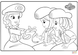 Small Picture Sofia and Buttercups coloring page Free Printable Coloring Pages