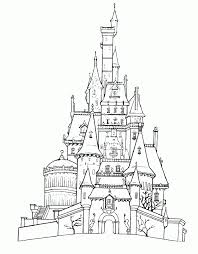 • in this coloring page image, your child will be able to color the entire walt disney signature, which is also the logo of the brand. Disneyland Coloring Page Coloring Home