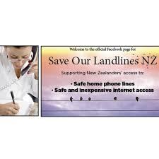Image result for copper landlines save