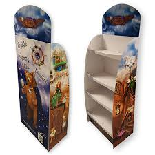 Cardboard Book Display Stands Custom POP Cardboard Book Display Stands Shelf for Retail 85