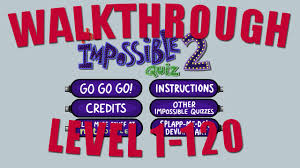 The Impossible Quiz 2 Answers The Impossible Quiz 2 Walkthrough Level 1 120 Youtube