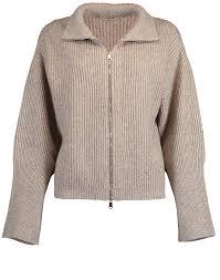 Brunello Cucinelli Size Chart Zip Front Knit Jacket Marissa Collections