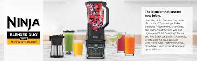 Ninja Blender Comparison Chart Ninja Blender Duo With Vacuum Blending And Micro Juice Technology Iv701